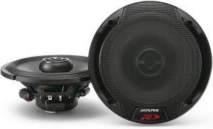 Alpine Spr-60 6.5-Inch 2 Way Pair of Car Speakers