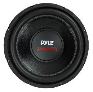 PYLE PLPW12D 12 inch 1600W 4Ohm DVC Black Car Stereo Audio Power Subwoofer Dual Coil