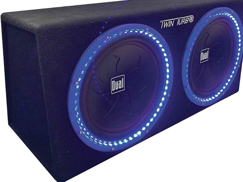 12 inch dual subwoofer